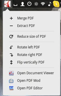 pdf manager applet